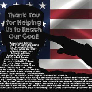 American Legion Thank You
