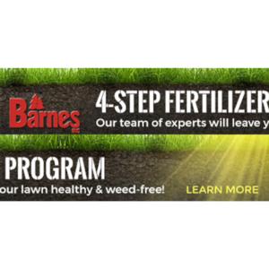 Barnes 4-Step Fertilizer