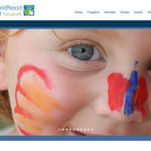 Badger Childhood Cancer Website Design