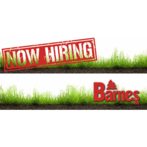 Barnes Now Hiring