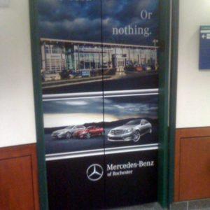 MB Rochester Elevator Door