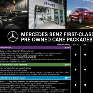 MB Rochester Pre Owned Care Package