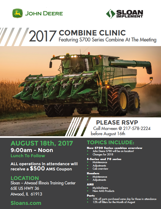 Sloan Combine Clinic S700 Series