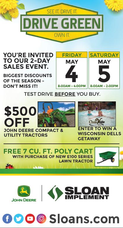 Sloan Drive Green Ad