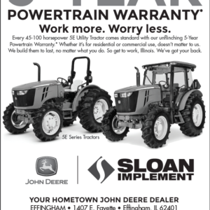 Sloan 5-Year Warranty