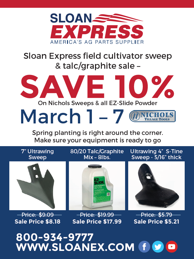 Sloan Express Sale Mailer