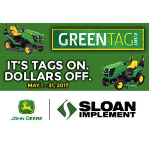 Sloan Green Tag