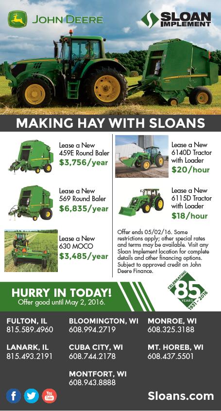 Sloan Making Hay