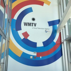 WMTV Large Wall Sign